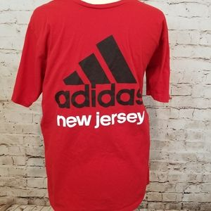 Adidas Top Sz L The Go To Tee New Jersey T Sh